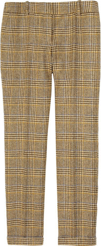 J.Crew Caf wool-tweed Capri pants