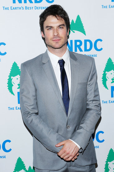 Ian Somerhalder Spends a Charitable Night Out and Shares a New Green Effort