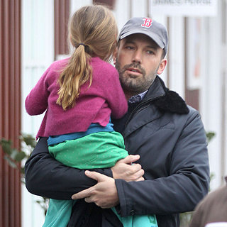 Ben Affleck With Daughter Seraphina in LA | Pictures