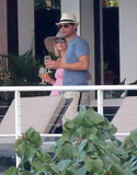 Ryan Seacrest and Julianne Hough watched the St. Barts sunset in January 2013.