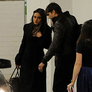 Mila Kunis and Ashton Kutcher Dinner Date in London