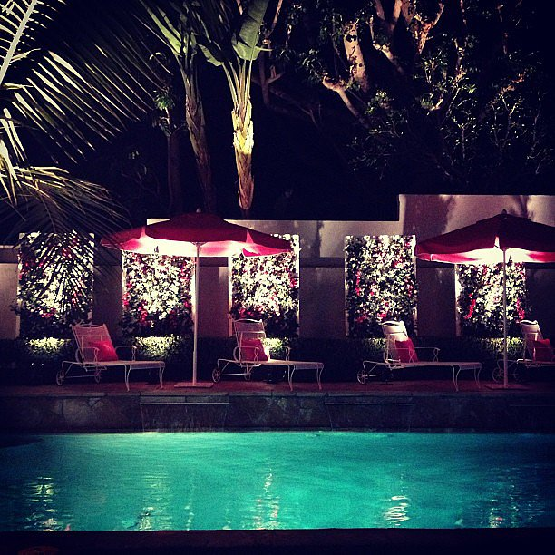 The Victoria's Secret Swim 2013 afterparty delivered nothing short of a poolside paradise.