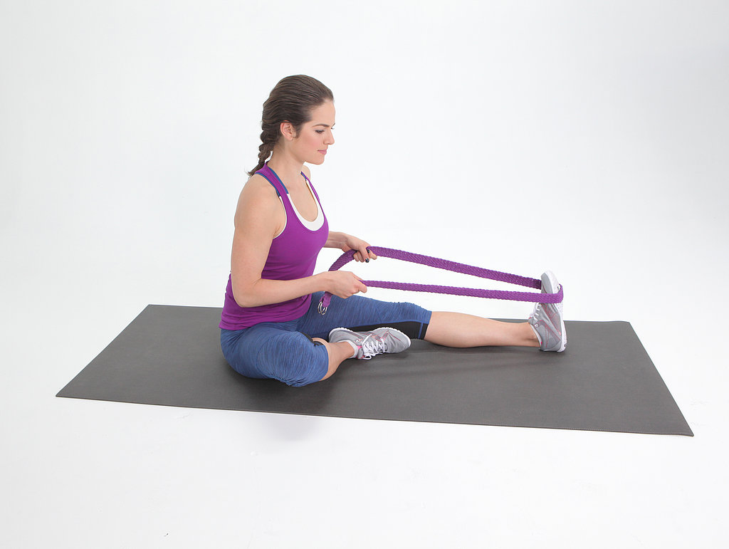 Seated Calf Stretch