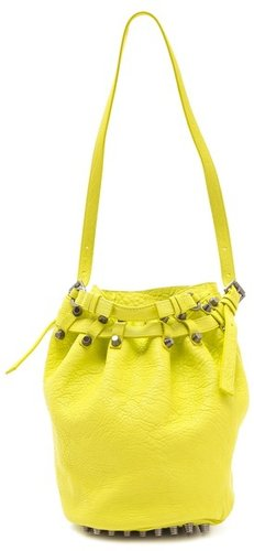 Alexander wang Diego Neon Bucket Bag