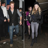 Prince Harry Hits the Town With Girlfriend Cressida Bonas