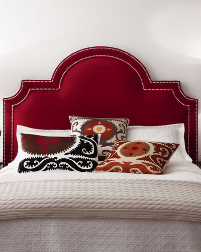 Massoud Furniture &quot;Sonia&quot; Velvet Headboard
