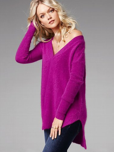 Angora Tunic Sweater
