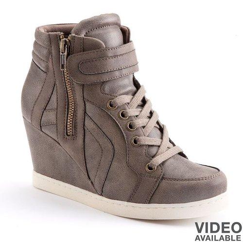 Candie's wedge sneakers - juniors