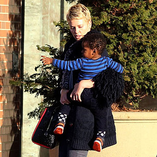 Charlize Theron and Jackson in Boston | Pictures