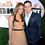 Jennifer Lopez and Casper Smart at Celebrity Fight Night