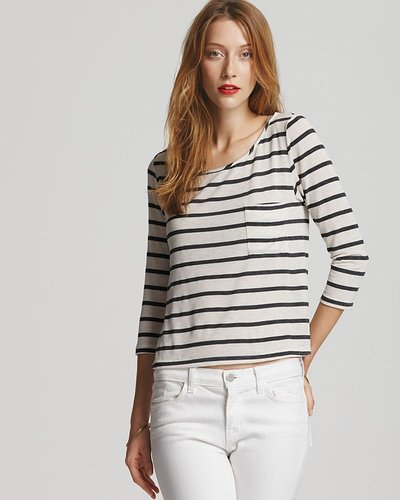 Request: Boat Neck Stripe Shirt