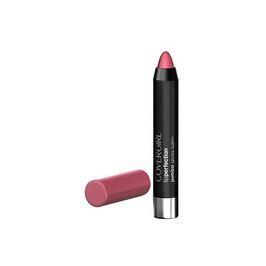CoverGirl Jumbo Gloss Balm ($7) is a flirty pink shade that's great for daily wear.