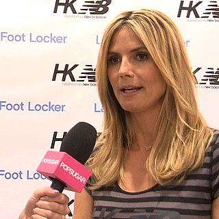Heidi Klum Interview on America's Got Talent (Video)