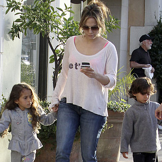 Jennifer Lopez Shops The Grove With Max and Emme | Pictures