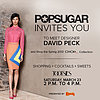 You're Invited to a POPSUGAR Event at Tootsies Houston With Designer David Peck!