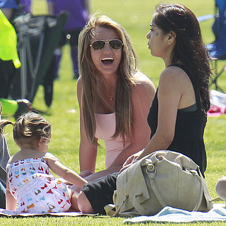 Britney Spears With Kevin Federline at Soccer Game Pictures