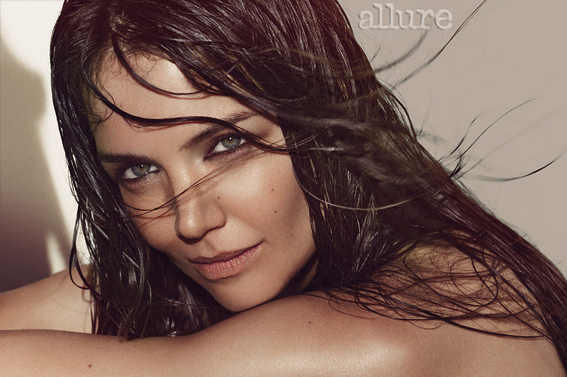 Katie Holmes flashed her green eyes for the camera. Source: Tom Munro/Allure