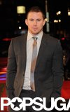Channing Tatum Joins His G.I. Joe Costars For a Rainy Red Carpet
