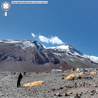Google Maps of Mt. Everest