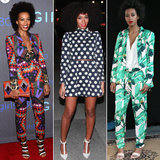 Well-Suited: Solange Knowles and Her Prints Are a Perfect Match