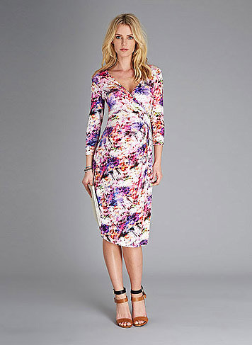 Isabella Oliver Vivien Print Maternity Dress