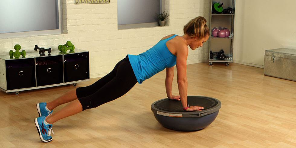 Work Your Entire Body With These 5 BOSU Moves