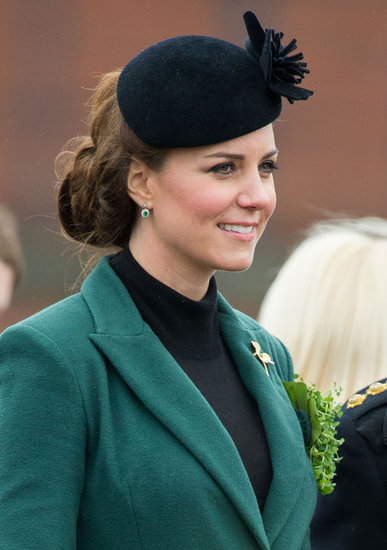 Kate Celebrates St. Paddy's Day With a Pom Pom