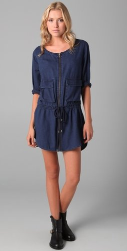 Marc By Marc Jacobs Lightweight Denim Shirtdress