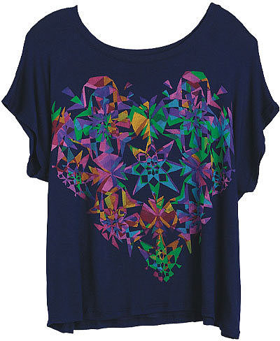 Workshop Kaleidoscope Heart Tee