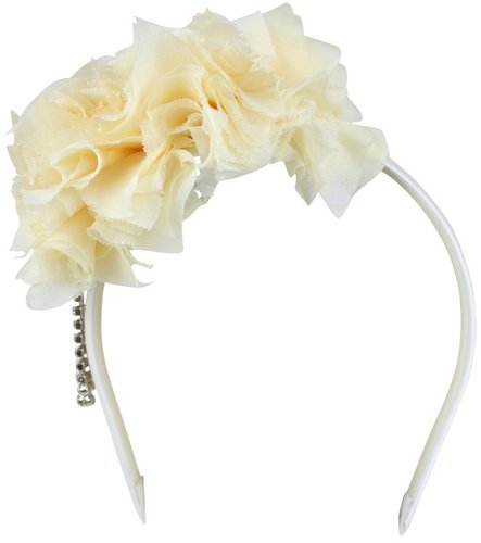 Aimee Lemon Pom Pom Headpiece