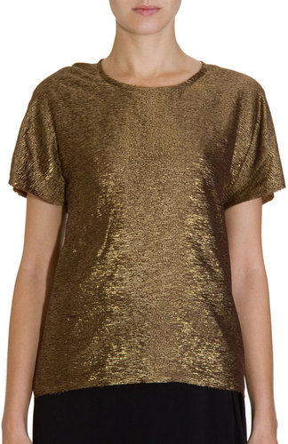 Lanvin Metallic Top