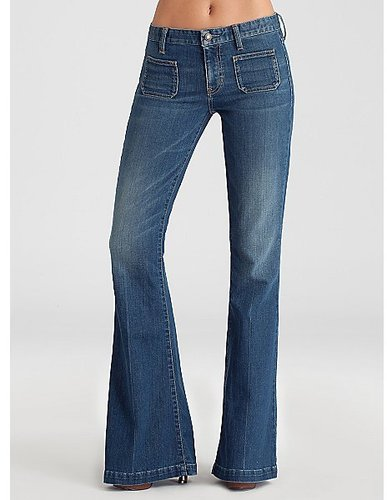 70's Relaxed Flare Jeans - Love Call Wash
