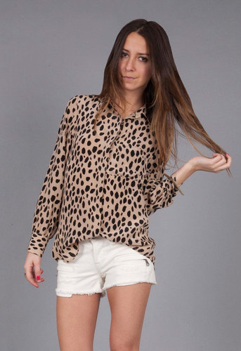 Thayer  Work Shirt in Cheetah - by Thayer