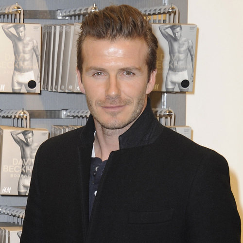 David Beckham at H&M in Berlin | Pictures