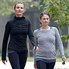 Cameron Diaz Goes on a Hike With a Friend in LA