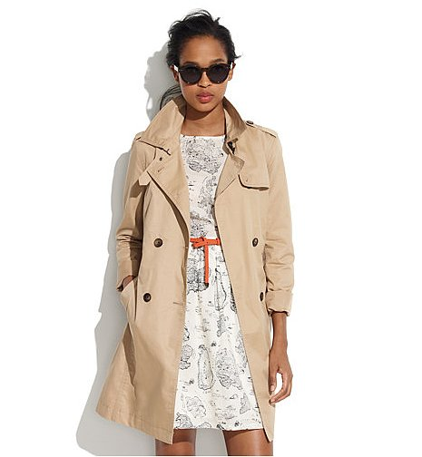 Your switch to Spring isn't quite complete without the right outerwear. Madewell's belted trench ($188) is a perfect take on the seasonal staple that you'll wear well after this season.