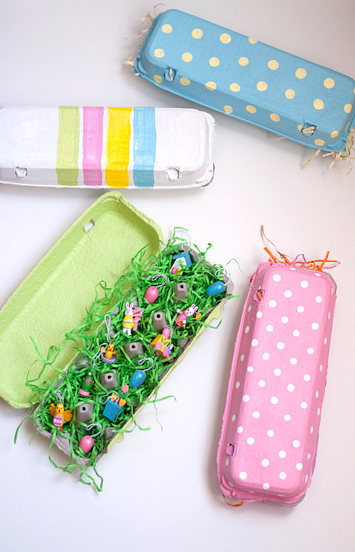 Easy Painted Egg Cartons