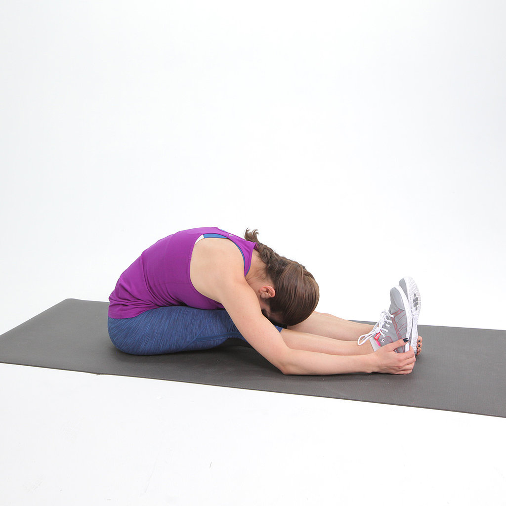 Tight Hamstring: Forward Bend With Rounded Back