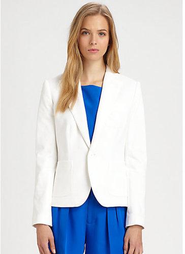 Ralph Lauren Blue Label Cotton Alexa Blazer