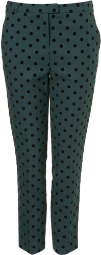 Spot Ankle Grazer Trousers