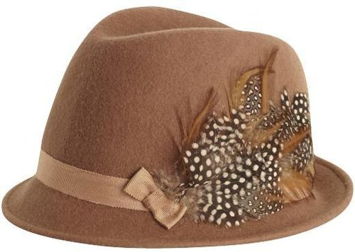 San Diego Hat Company Fedora with Feather