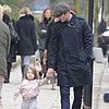 Harper Beckham Walking in London Pictures