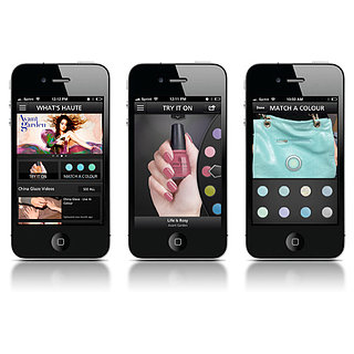 China Glaze App For iPhone