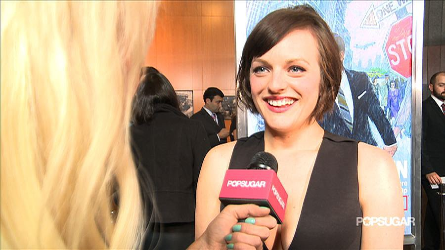 "Elisabeth Moss on Peggy's ""Brave"" Move and Growing Up on Mad Men"