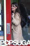 Katie Holmes had a lunch date in NYC.
