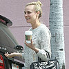 Diane Kruger Gets Coffee in LA After The Host Premiere