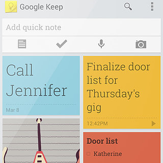 Google Keep Reminder App