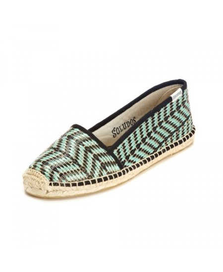 Sandals will undoubtedly result in dirty toes. Keep your feet clean(er) with these light Soludos raffia espadrilles ($65).