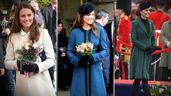 Kate Middleton Gives Us a Lesson in Polished Outerwear!