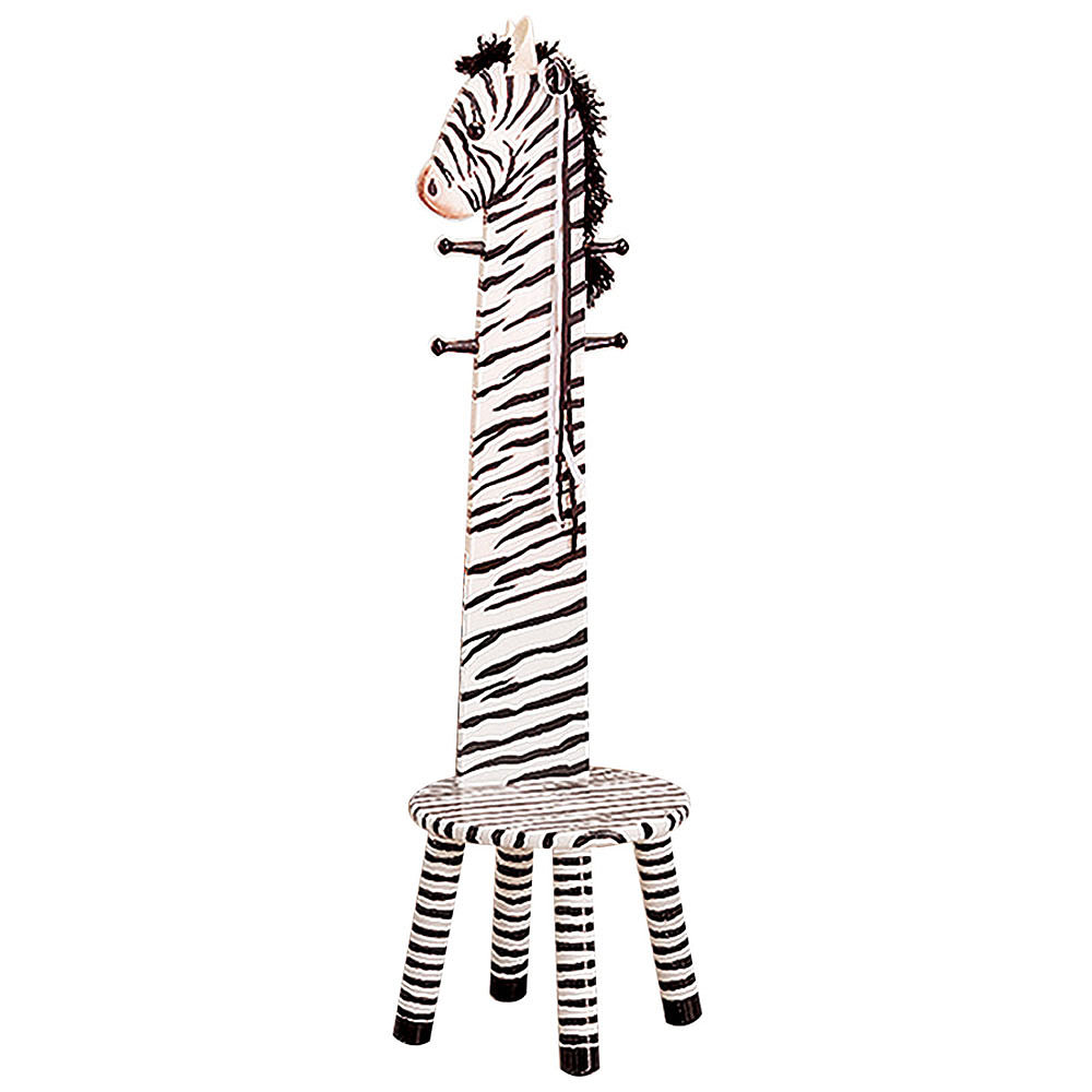 Teamson Zebra Animal Stool